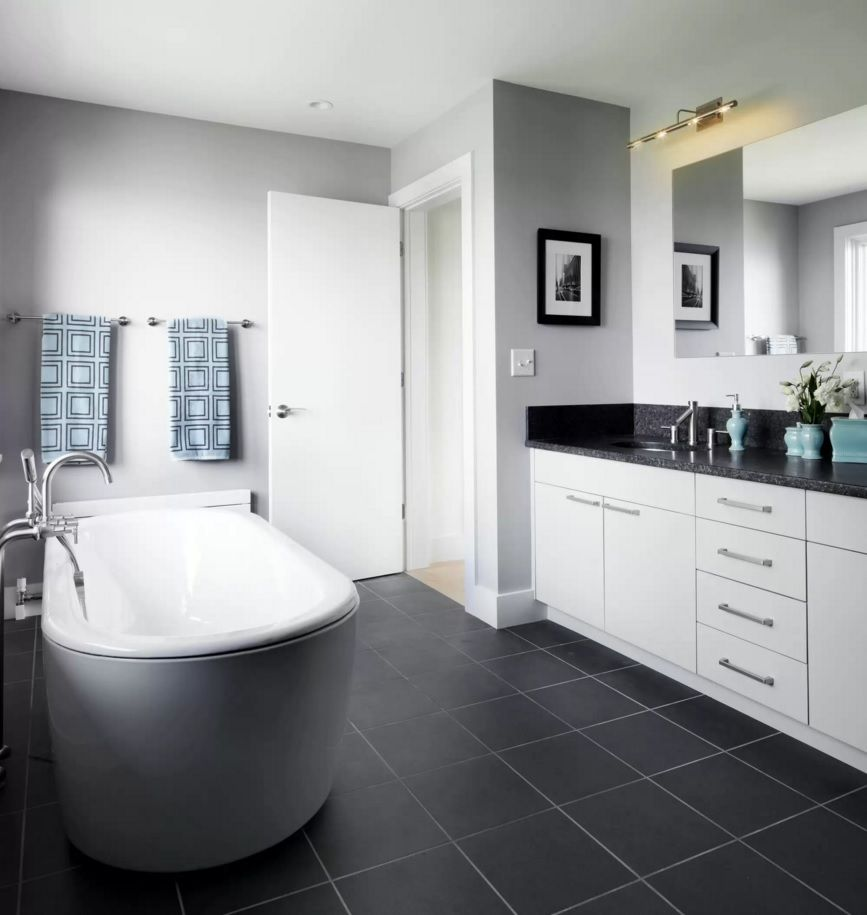 White bathrooms ideas - Choosing New Bathroom Design Ideas 2016 Round Bath Tubs Are Very Popular By Now