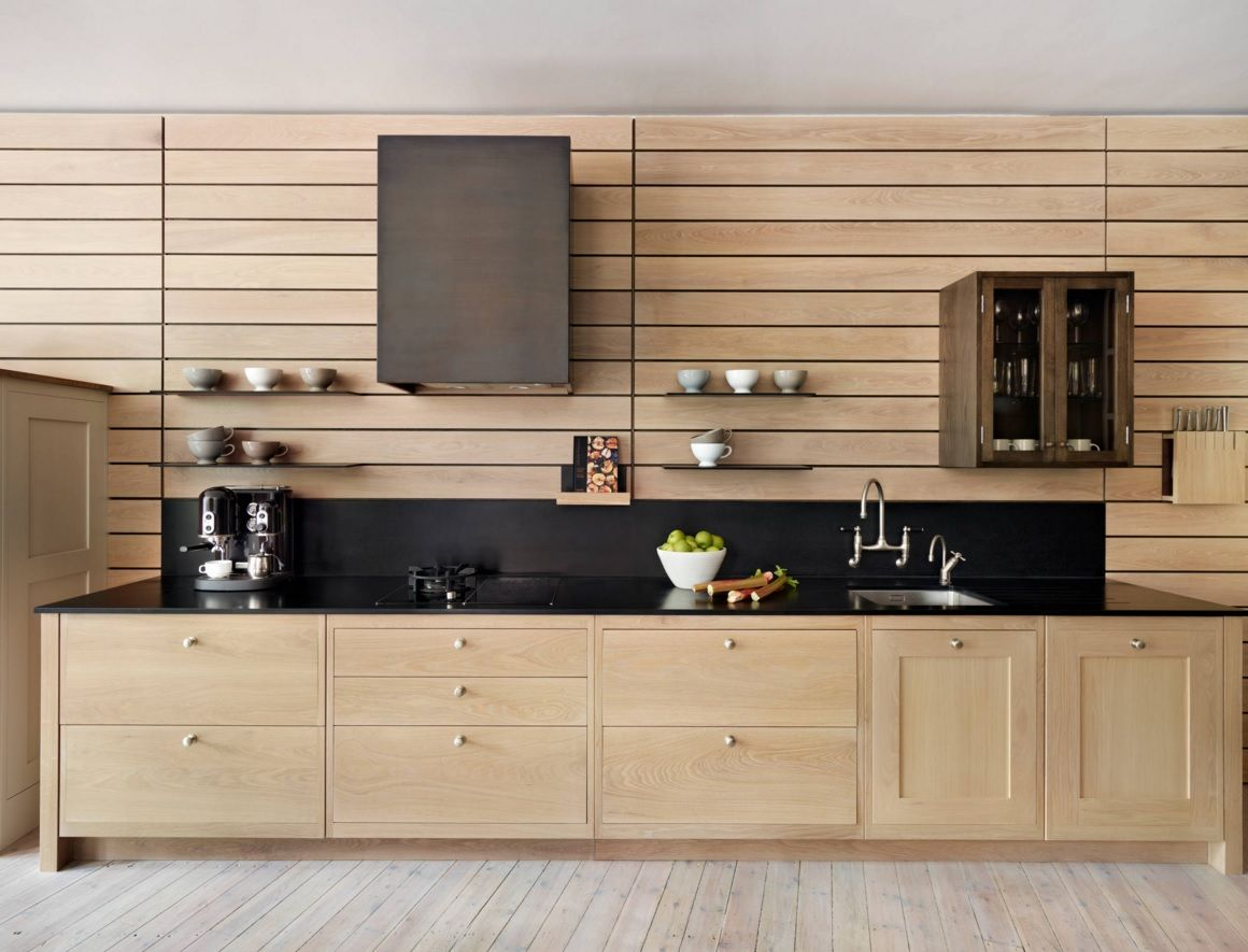 Kitchen Design Latest Trends 2016. Totally wooden furniture set
