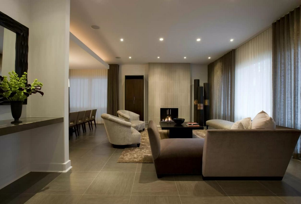 Living Room Most Topical Design Trends 2016. Laminate is the relatively new surprizing material for the floor trimming of every dwelling