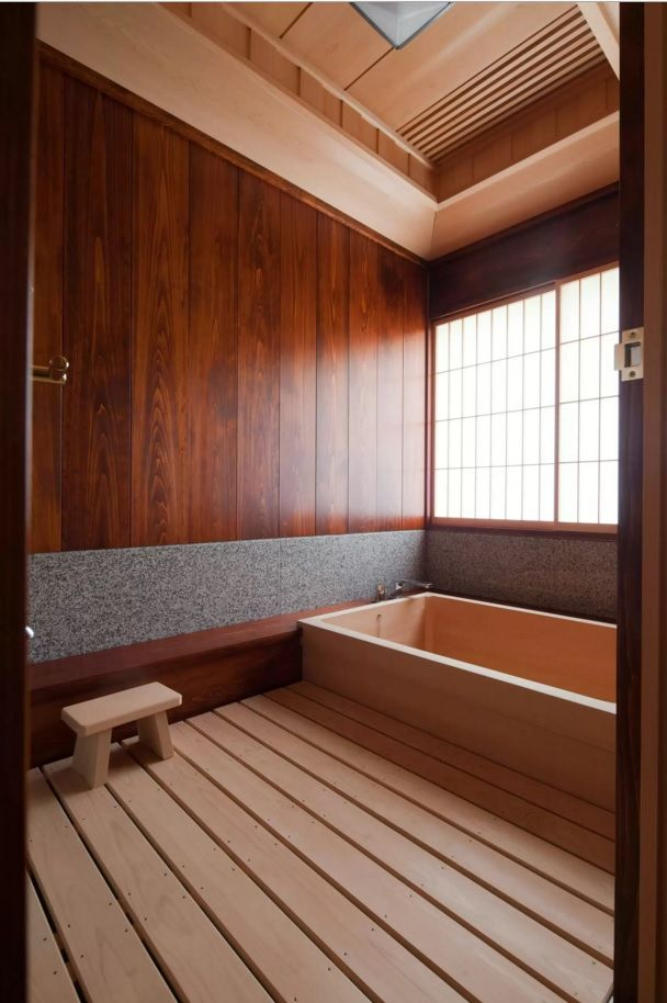 Choosing New Bathroom Design Ideas 2016. Fully decorated with wooden materials bathroom