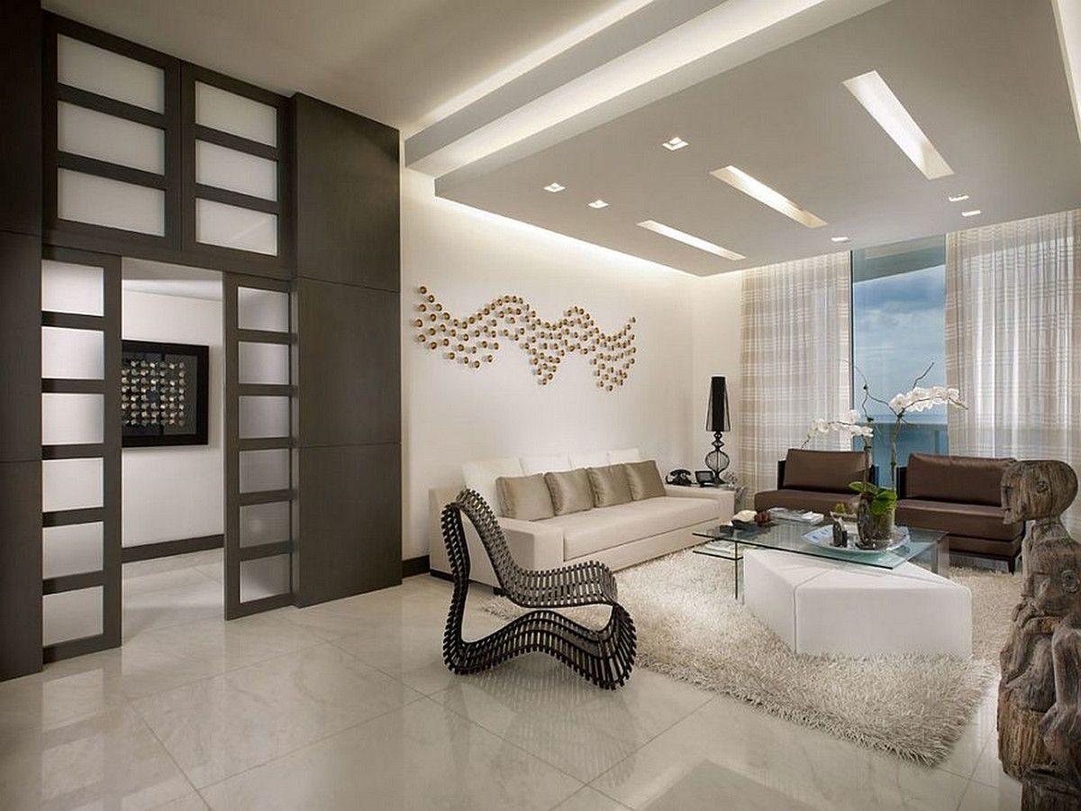 Ceiling Designs 2016: Full Review Of The New Trends. Highlighted Resting  Zone Of The