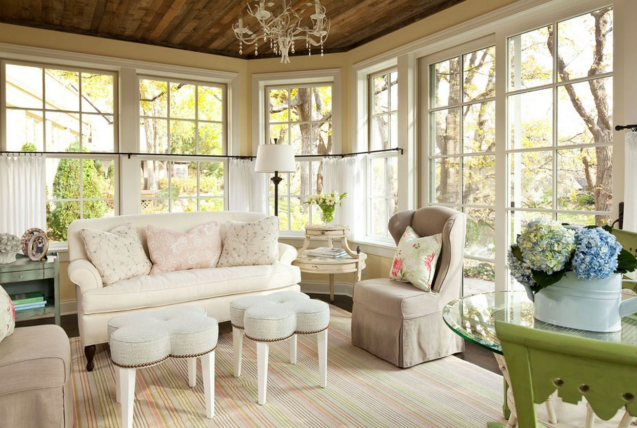 Shabby Chic Interior Design Style. enchanting design of the tender private house interior