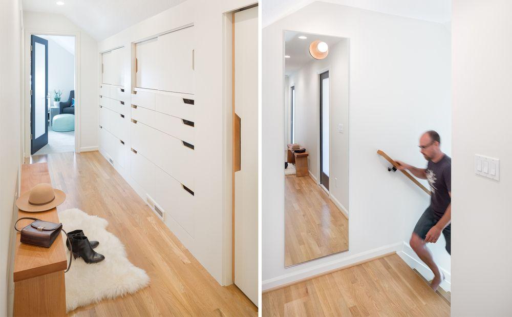Modern Hallway Decoration Design Ideas. minimalstic, low-keu, but still impressive prospective of the hallway