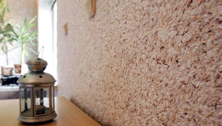 Liquid wallpaper will hide wall defects