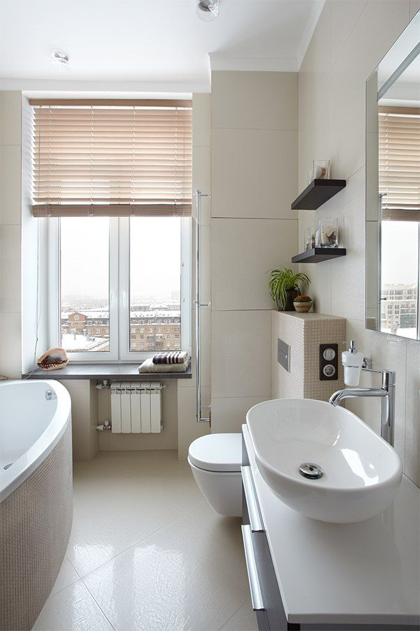 Small Design Ideas for Oblong Rooms. Bathroom can be also arranged wisely and aesthetically