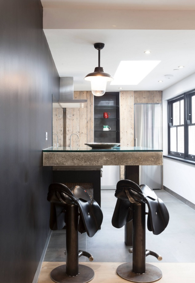 Most Original Kitchen Design Ideas 2016. Bar Stools In The Form Of Horse  Saddles