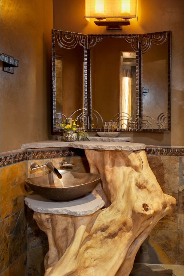 Bathroom Modern Interior Design Original Ideas. Another ethnic design with natural subtext