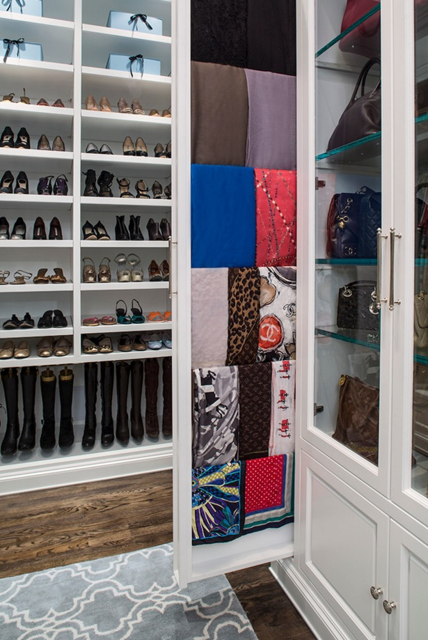 Custom Closet & Shelves & Wardrobe Original Design. Brilliant idea for keeping the linen and cloth in one dedicated place