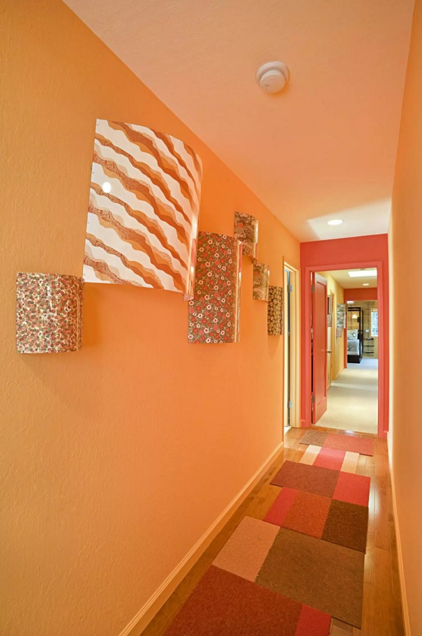 Top 20 Modern Unique Hallway Design Ideas. Excellent peach color trimming for the broad space