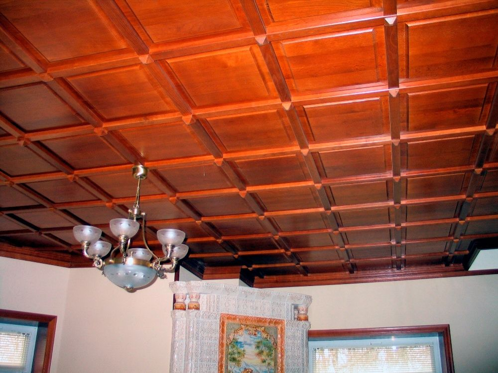 Top 15 Best Wooden Ceiling Design Ideas. Wax soaked plates for the trimming