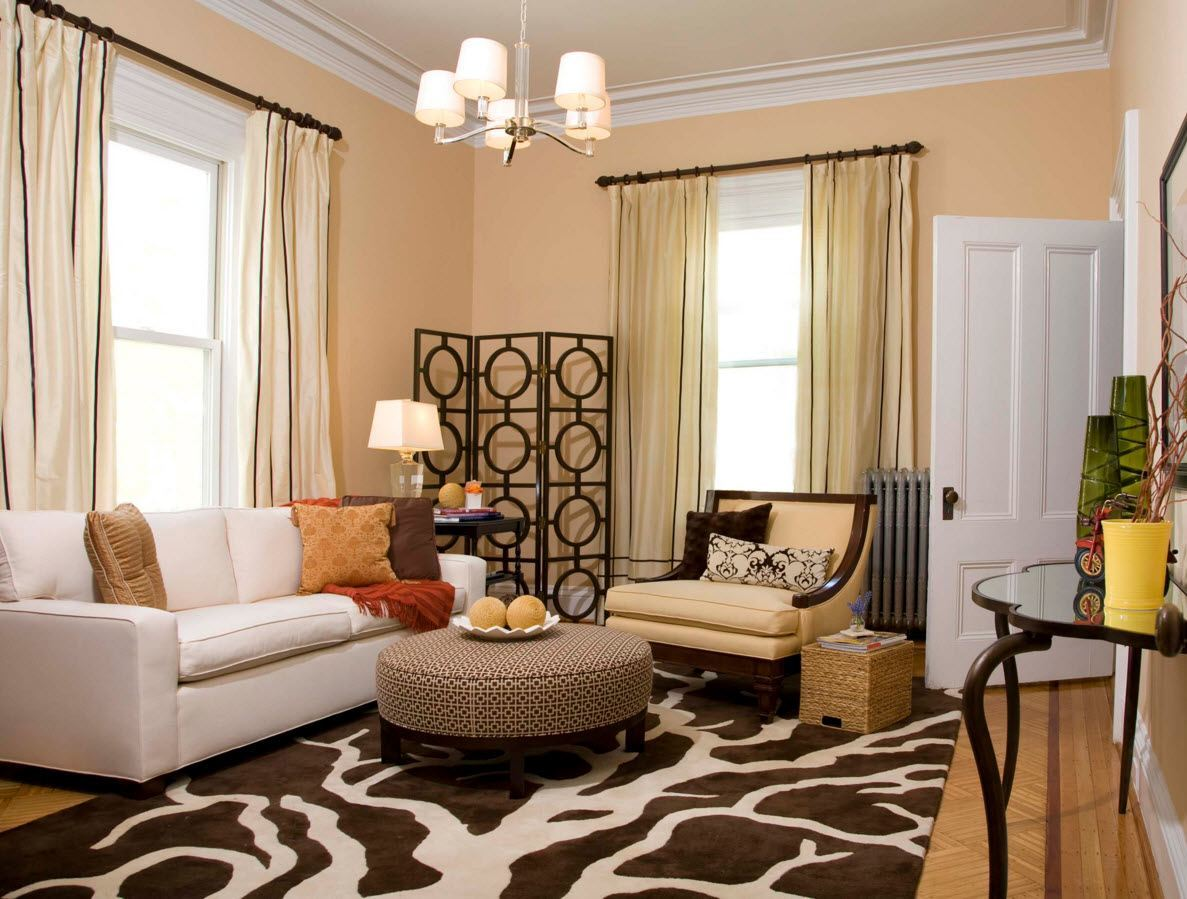 Living room curtains design ideas 2016 classic and even vinatge styled room with light olive