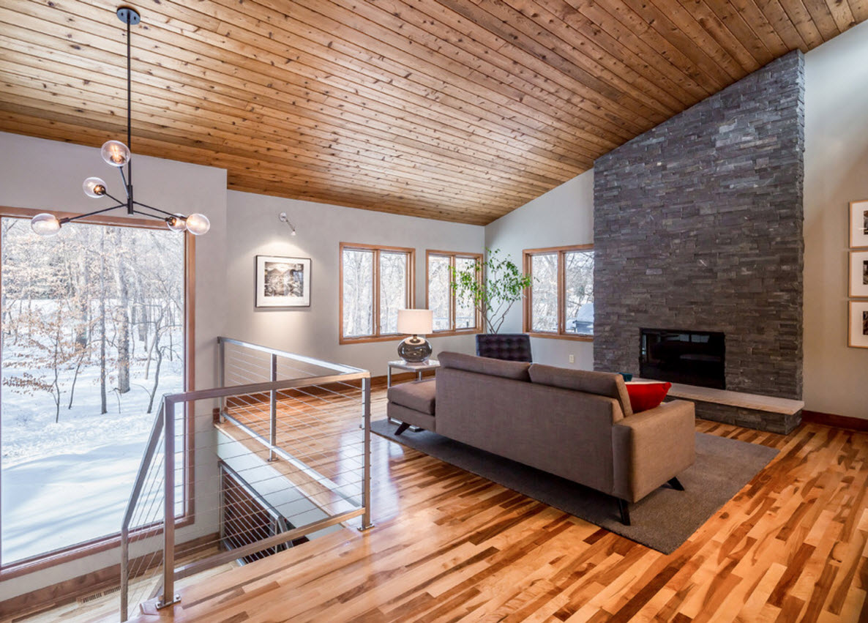 Contemporary House Interior.  Laconic Contemporary House Interior Design Small Ideas