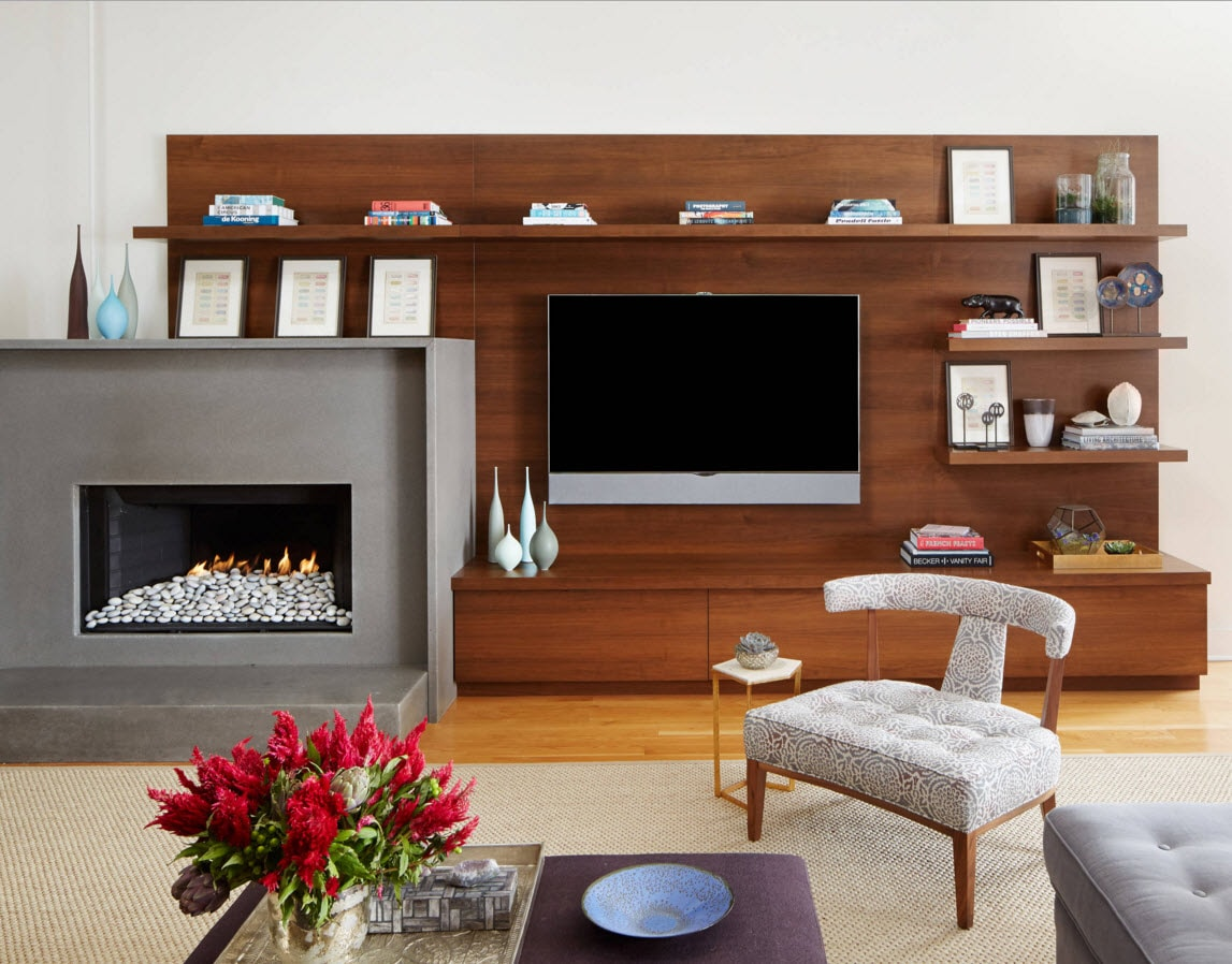 storage systems variety for the living room small design