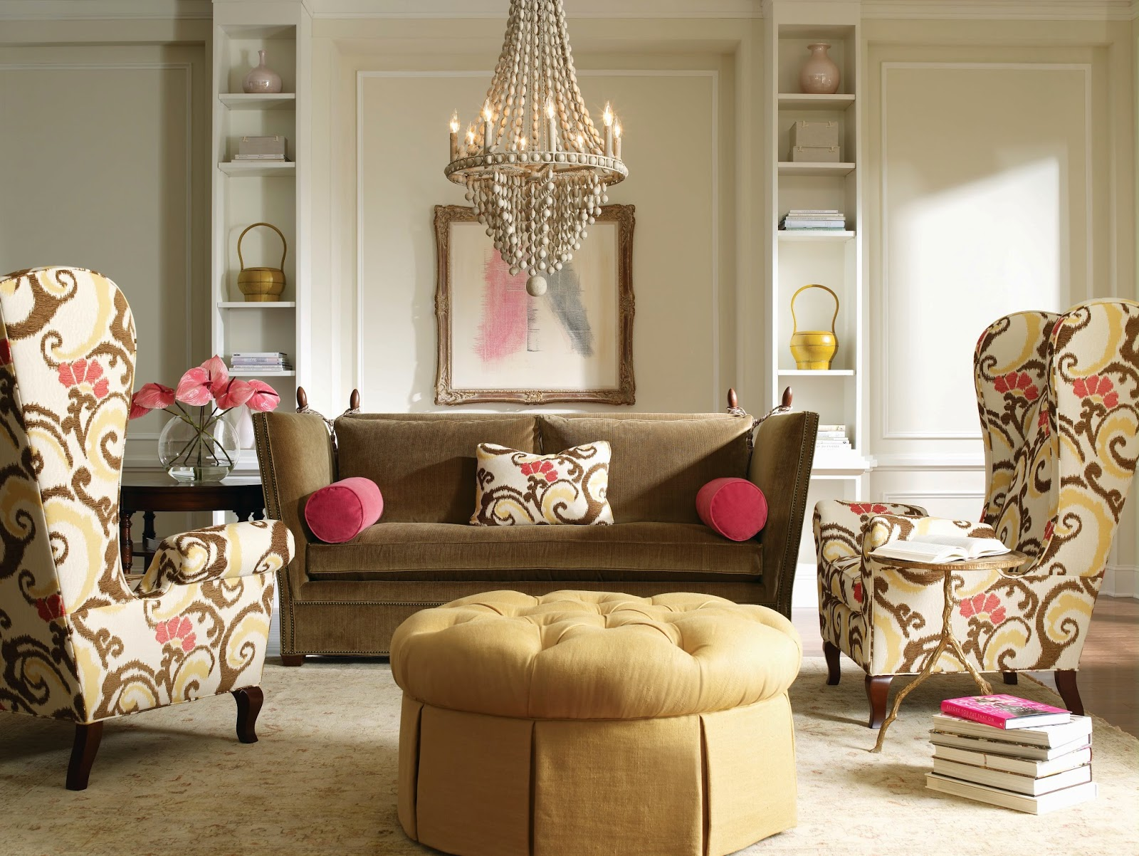 Classic style furniture fro practical chic interiors neoclassicism in the roomy premise