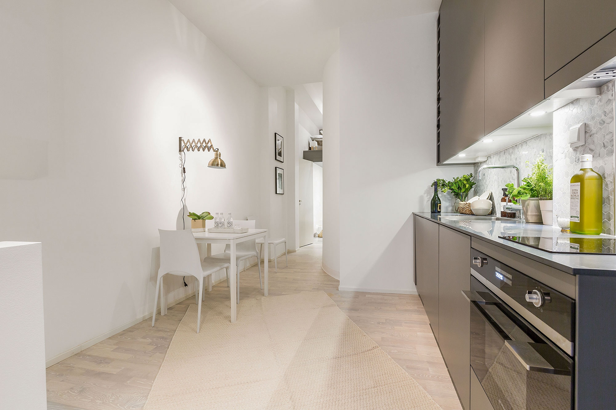 Apartments and Condos Design Projects 2016. eco design for the hi-tech kitchen