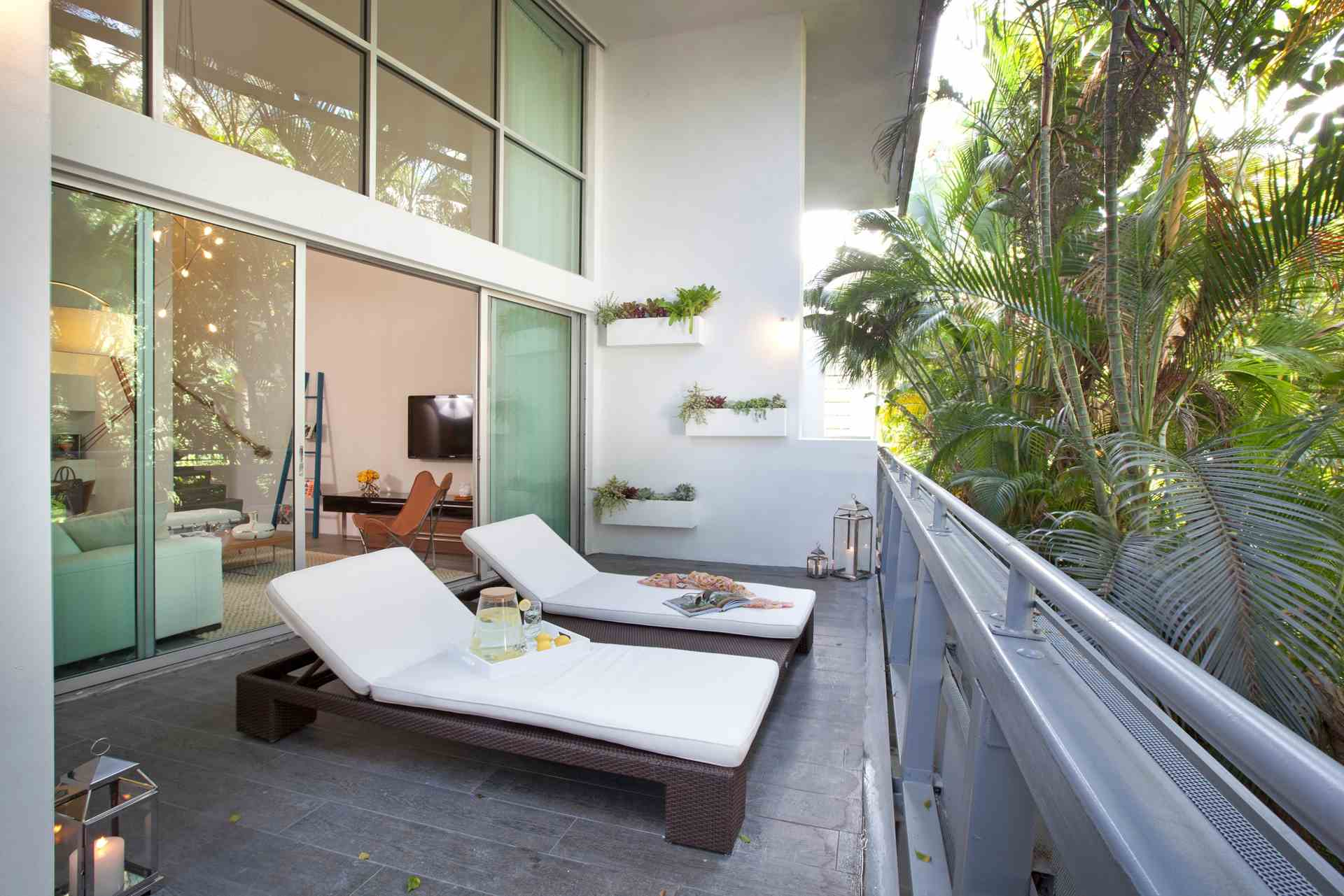 Modern Large Balconies Modern Balconies Interior Design Ideas Sunbeds In The Eco Designed