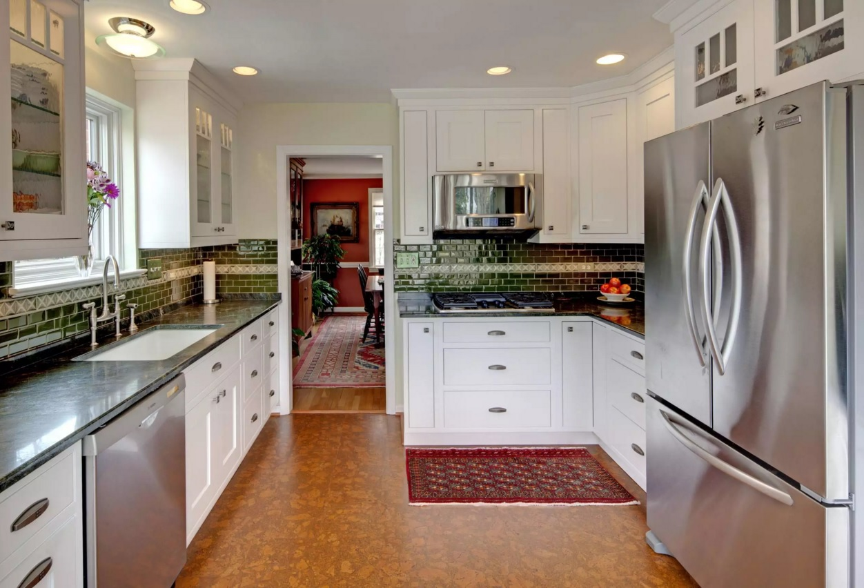 Types Of Floors For Kitchens Types Of Cork Flooring All About Flooring Designs