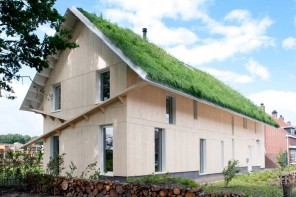Grass Roof House Bold Design Project. Absolutely experimental facade and overall exterior of the building