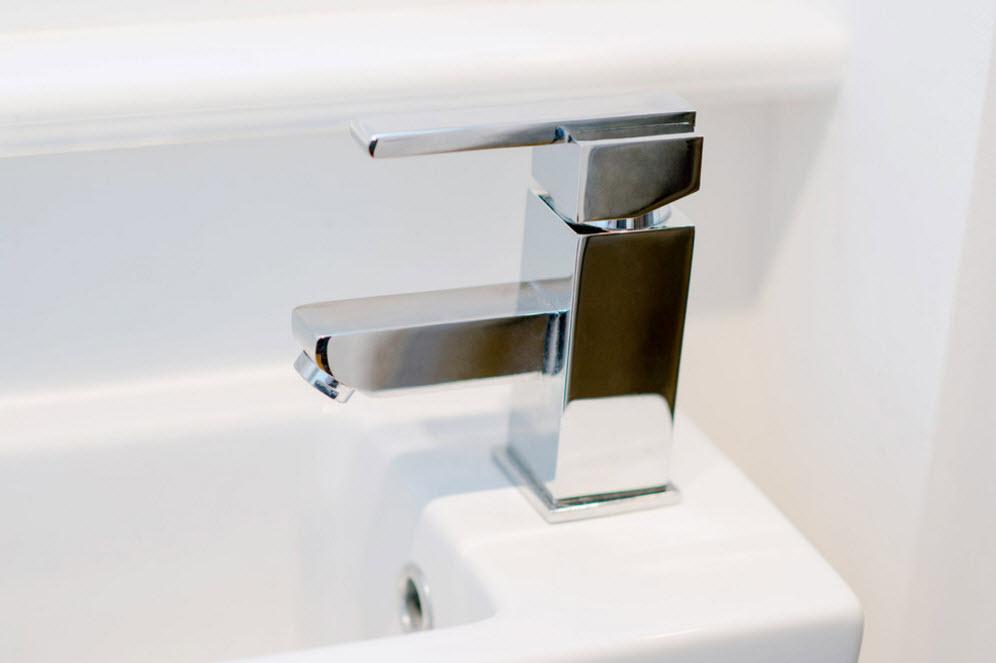 Close-up tap photo