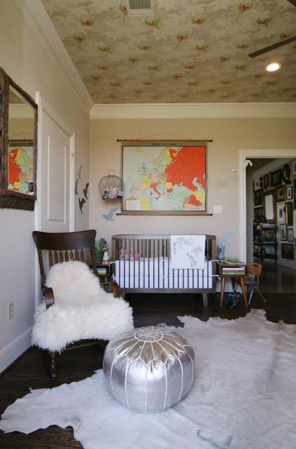 Fusion Interior Design Style. Nostalgie decorated room