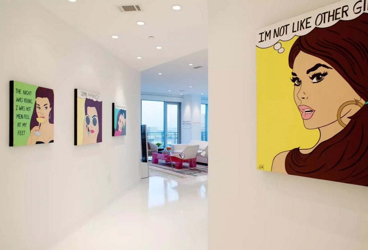 Art Design Ideas : Pop art interior design style small ideas