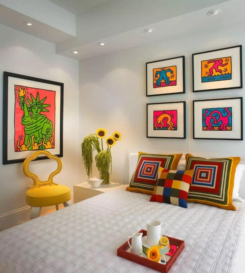 Pop Art Interior Design Style. Kids' room variant