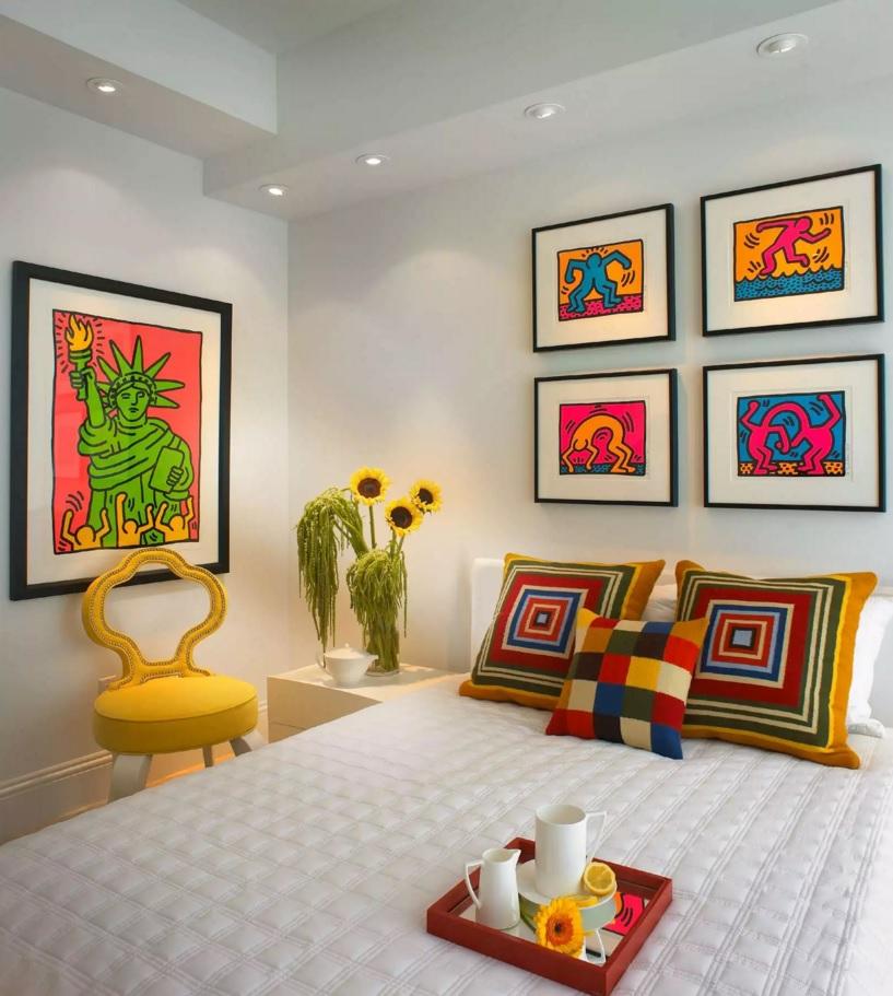 Pop Art Interior Design Style Kids Room Variant