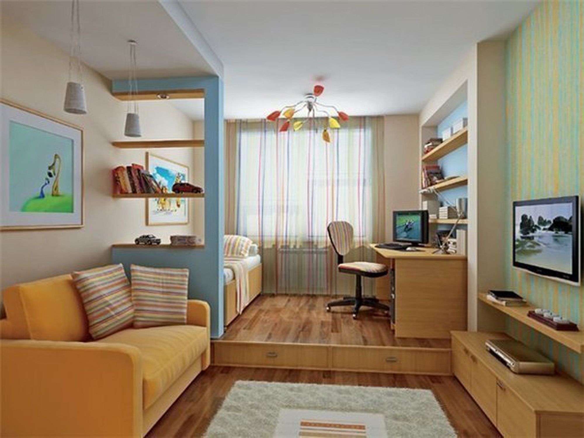 Small Condo Functional Space Ideas - Small Design Ideas