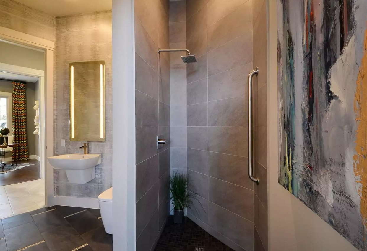 Small Bathroom Creative Remodel Ideas. Nook can also be the utilitarian space