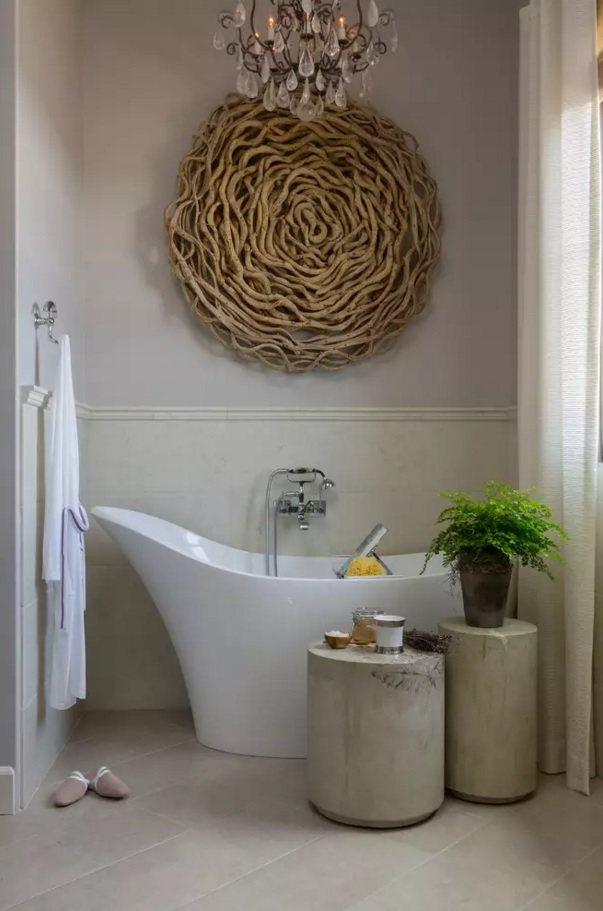 Small Bathroom Creative Remodel Ideas. Ecological corner