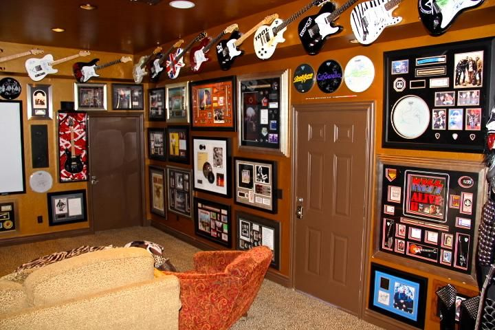 Original Interior Musical Design Ideas. Broad collection of a real fan