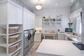 Functional and Beatiful Laundry Interior Ideas
