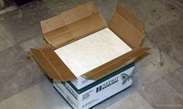 Easy Way DIY Wall Tiling Advice. Unpacking the box