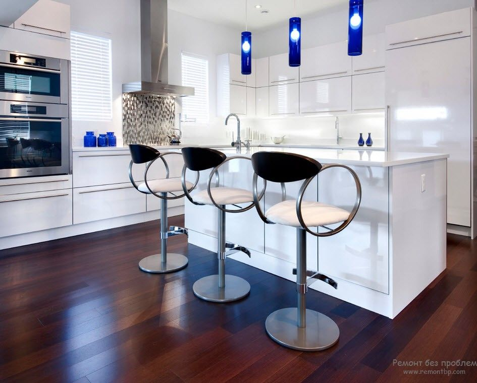 100 Kitchen Chairs Design Ideas. Blue spots look amazingly attractive