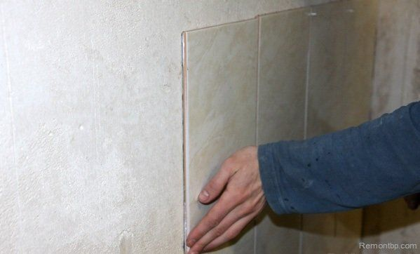 Easy Way DIY Wall Tiling Advice. Proceed to work