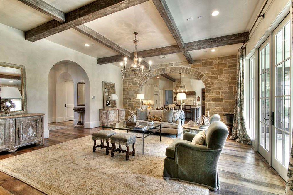 Stone Cladding Interior Living Rooms Accent Walls
