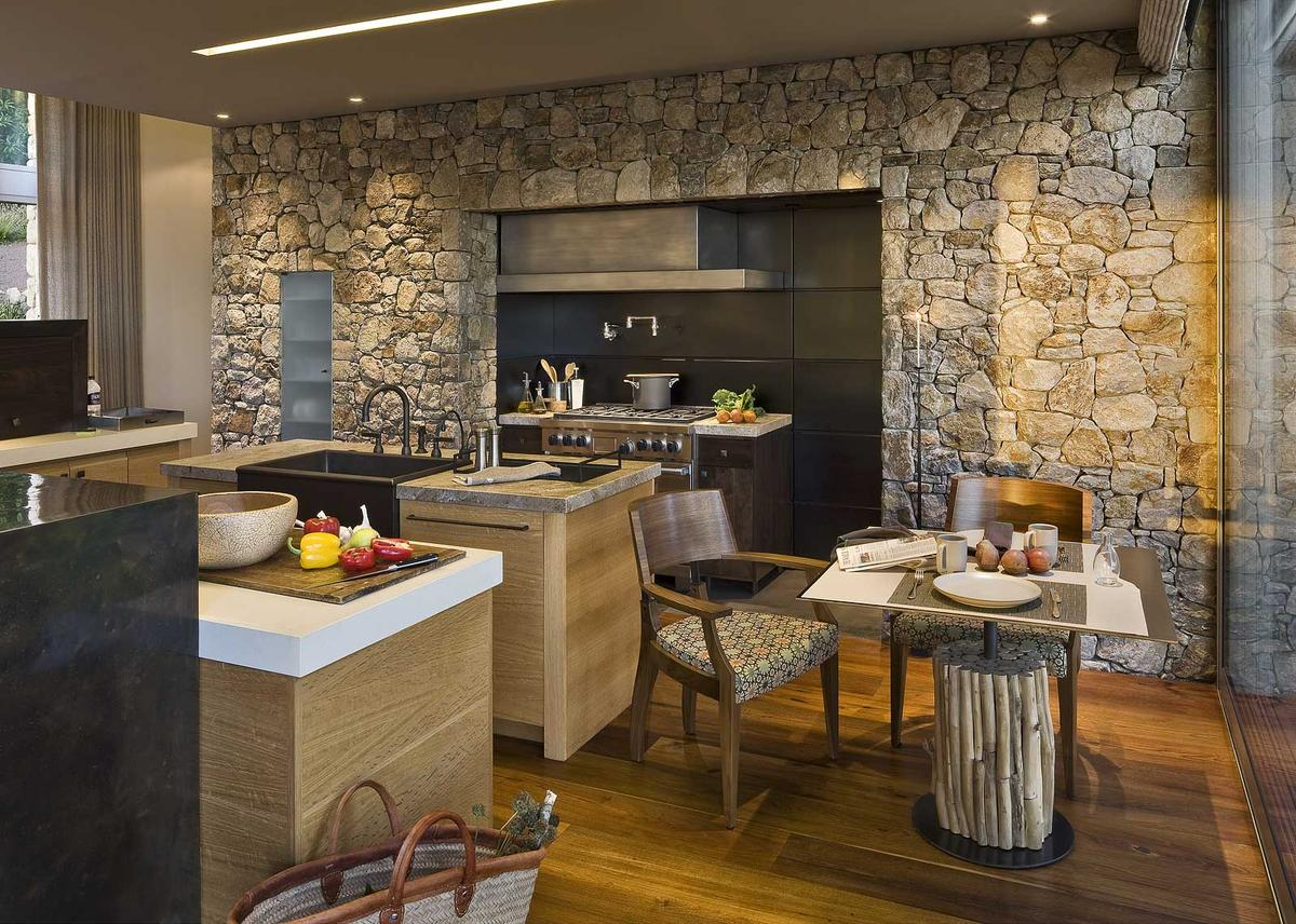 Stone Kitchen Interior Decoration Ideas - Small Design Ideas