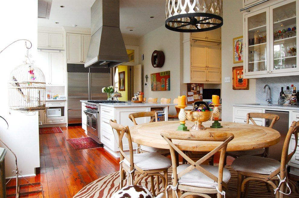 100 Kitchen Chairs Design Ideas. Nice bright rustic interior