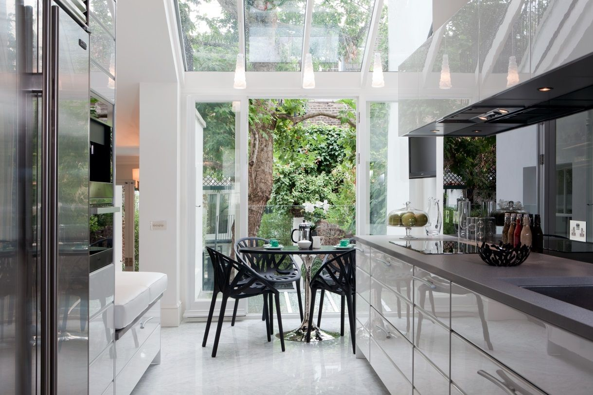 100 Kitchen Chairs Design Ideas. Nice open plan of the room with an open terrace