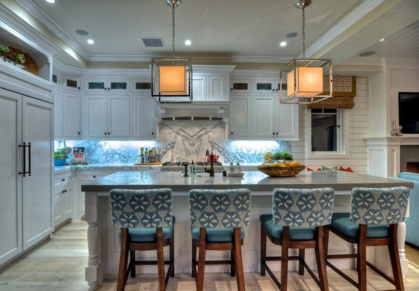 100 Kitchen Chairs Design Ideas. A little bit of Marine style hints in the interior