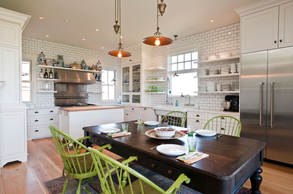 100 Kitchen Chairs Design Ideas. Green furniture in the country style interior