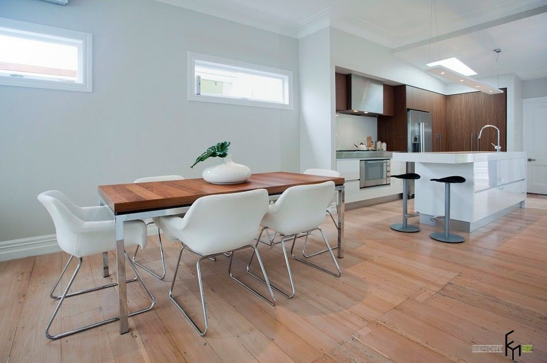 100 Kitchen Chairs Design Ideas. Metal elements are perfect for hi-tech interior