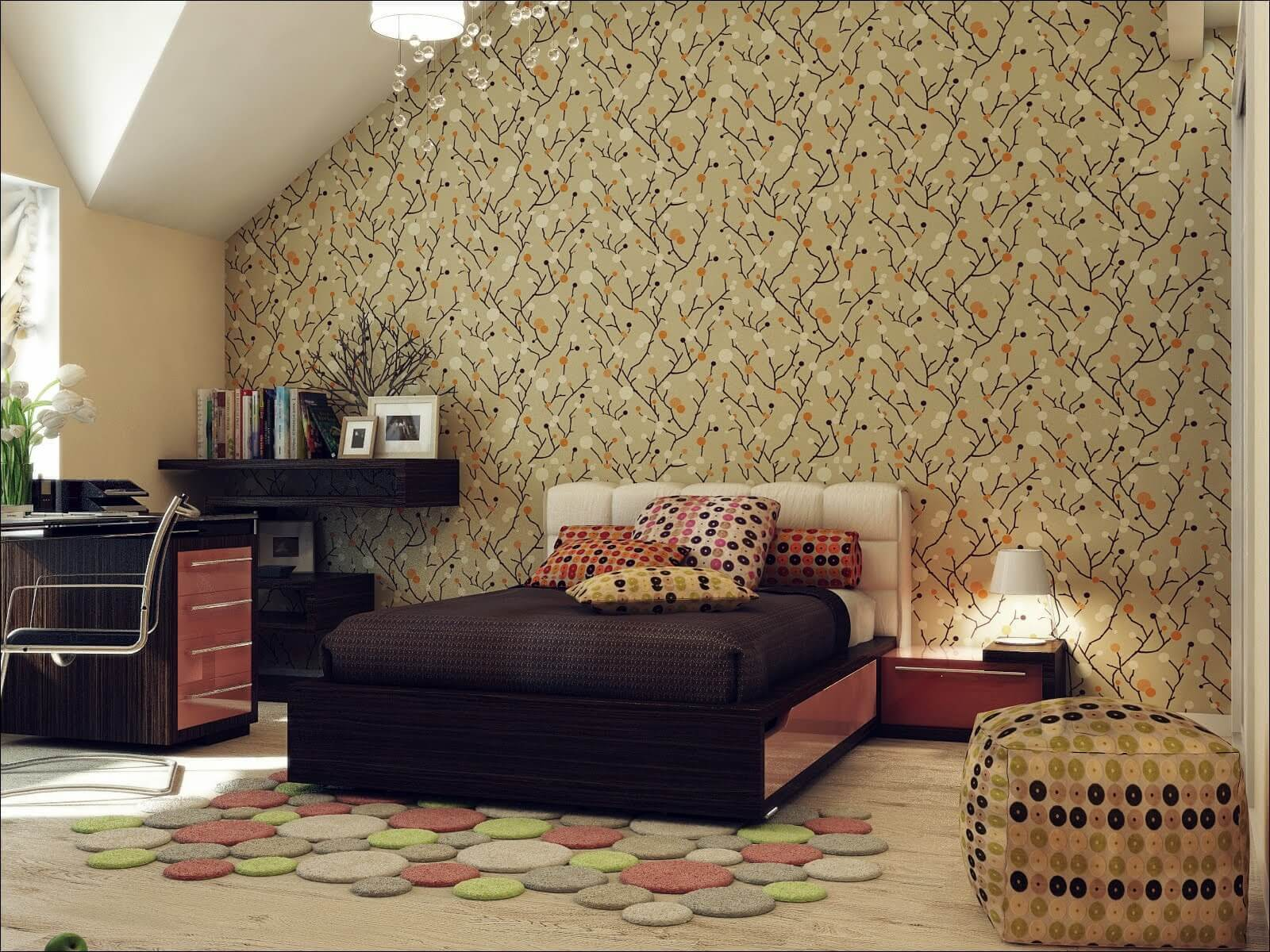 Most Widespread Types of Wallpaper. Common widespread paper type