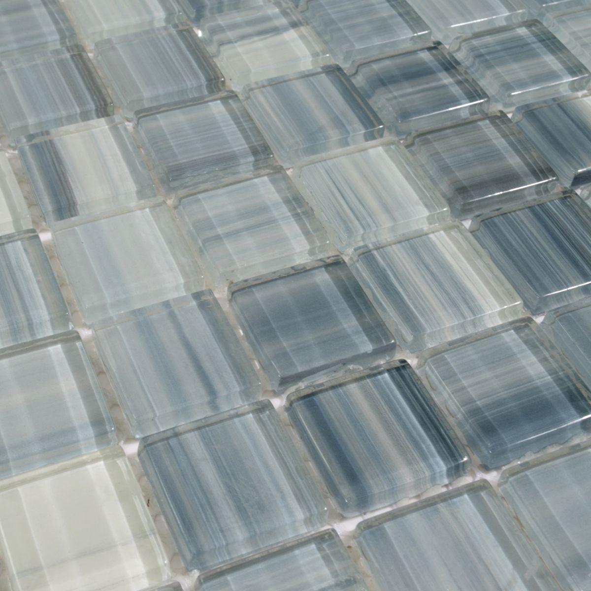 Interior Tile Trimming Ideas. Glass tiles type