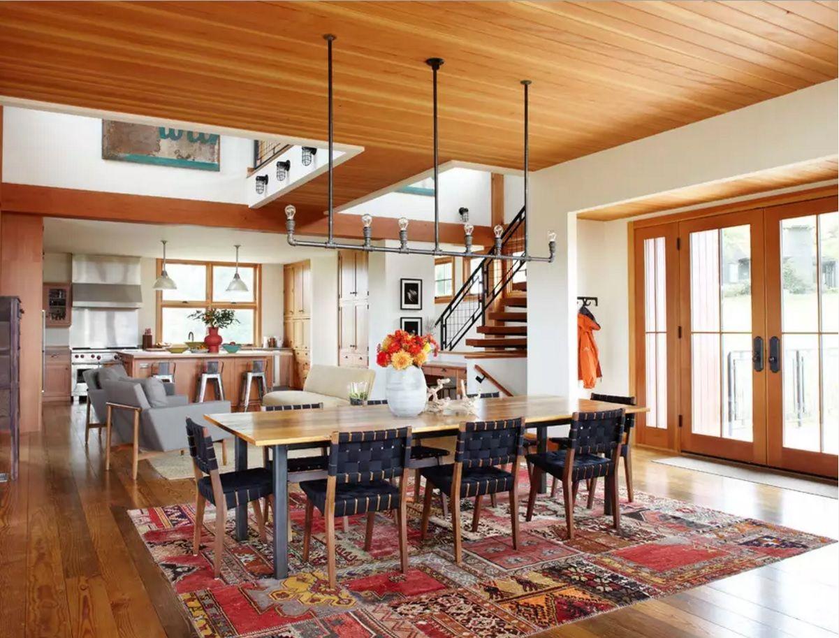 Dining Room Light Fixtures. Bold modern loft designed rack for lamps