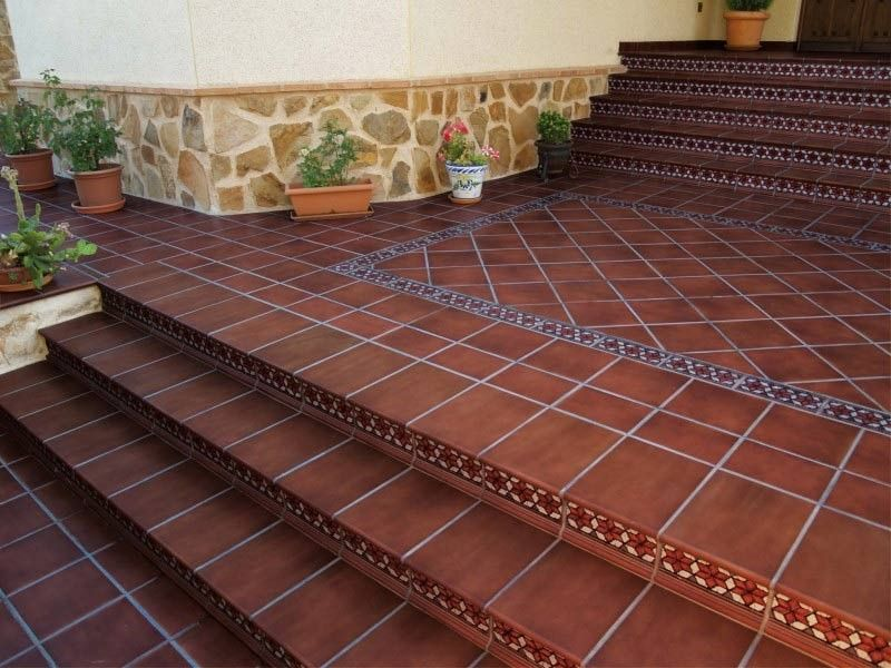 Common Types of Ceramic Tiles. Clinker tiles for flooring of large spaces