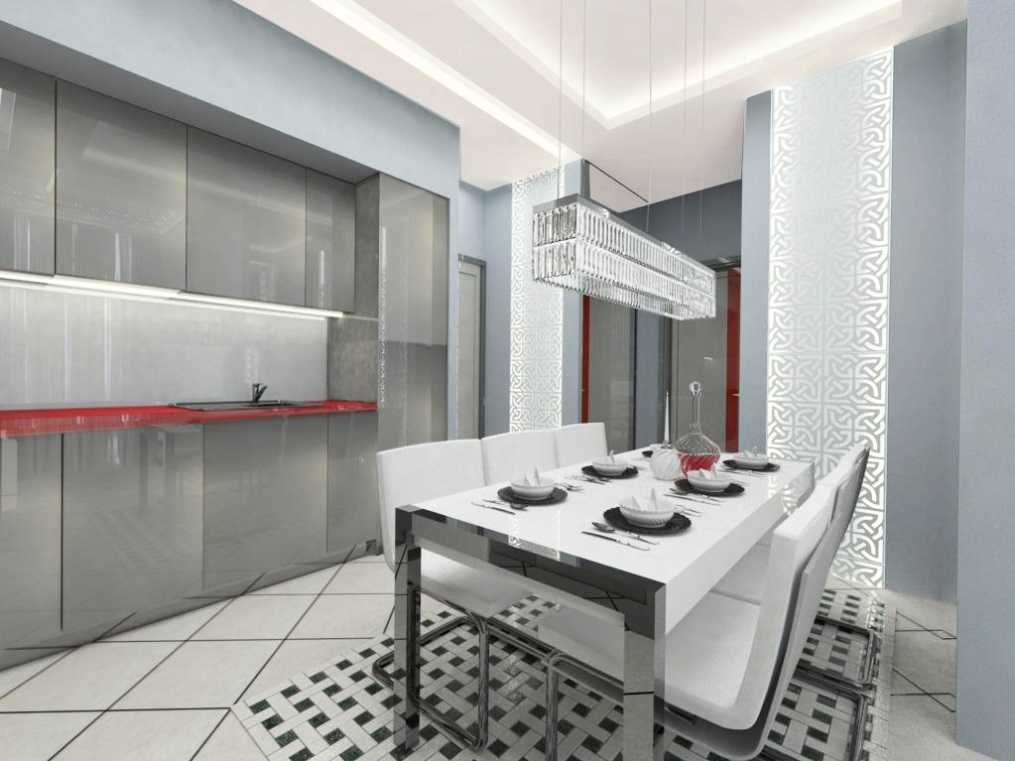 Wall Panels: Types, Sizes, Properties. Glossy and shining glass surfaces at the kitchen