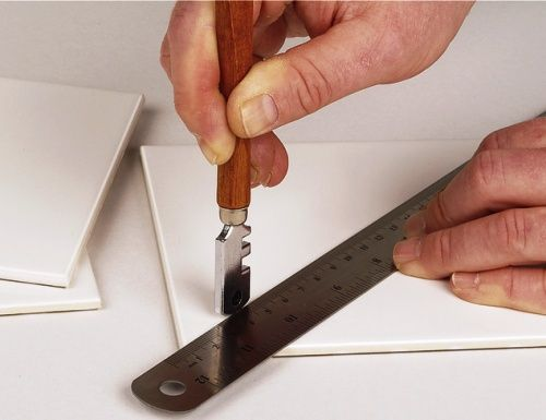 Ceramic Tiles Cutting Advice. Roll conventional cutter