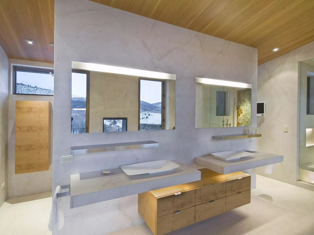 Small Bathroom Space Saving Vanity Ideas. Absolutely gorgeous design of the hygienic area