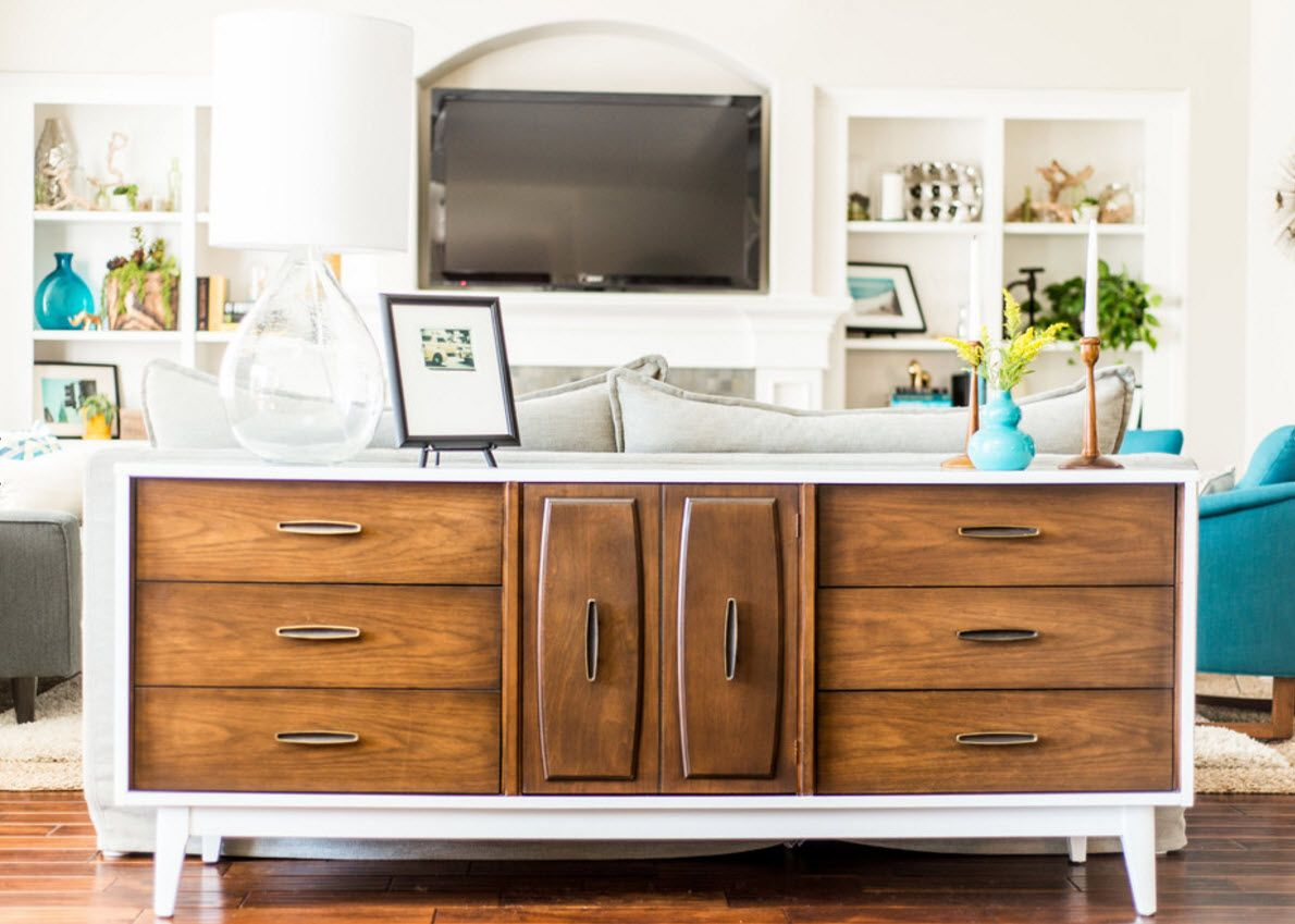 Walnut Furniture for the Modern Interior Decoration. originally designed classic chest of drawers